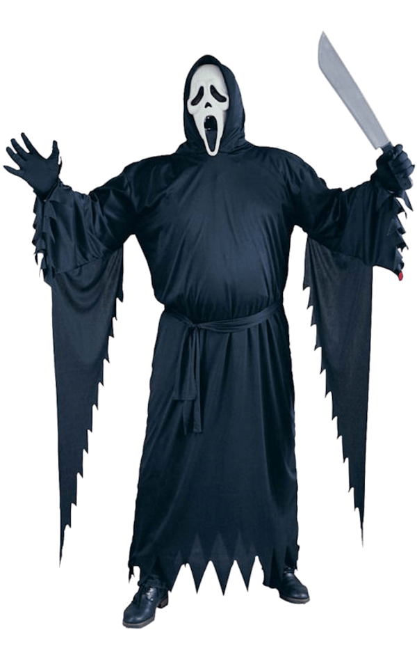 Scary movie - Scream robe costume and mask Ghost face