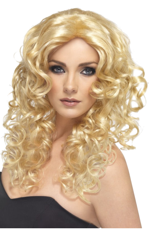 Wig glamour style - deluxe beautiful blonde ladies wig