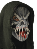 Horror mask 'Evil' with hood - Halloween