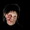 'Hunch back' horror mask with hair - Halloween