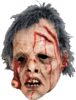 Extreme Zombie horror mask with hair - Halloween