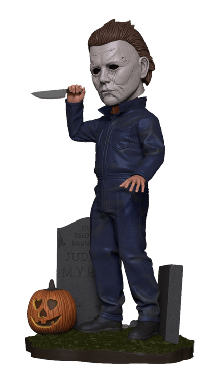 Michael Myers Halloween Head Knocker