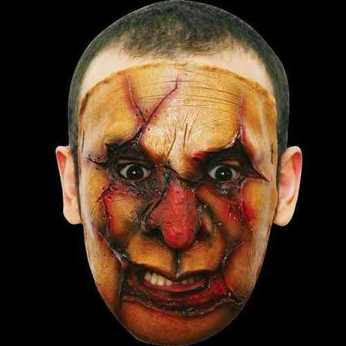 Gory latex horror mask (no.2) - Halloween