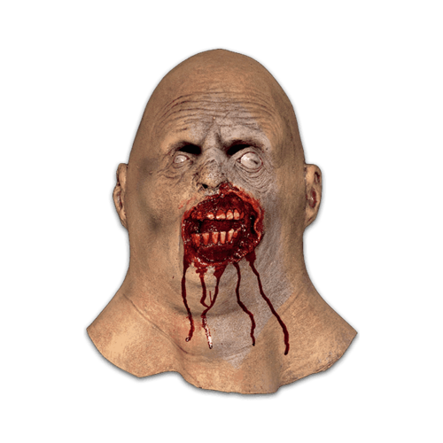 Bloated bob zombie horror mask - scary horror mask