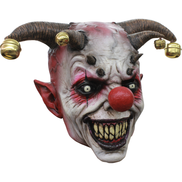 Jingle Jangle Smile Your Dead Horror Mask Halloween