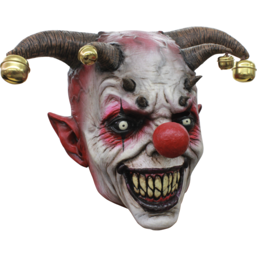 Jingle jangle Smile your dead - horror mask