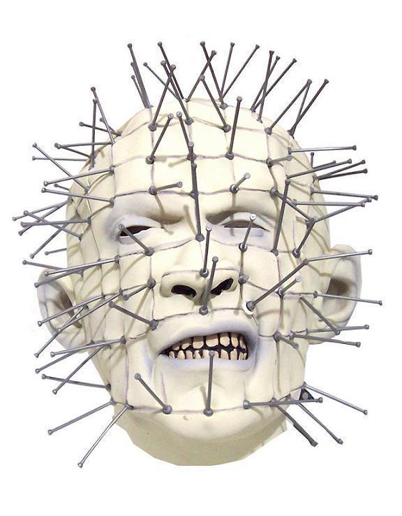 Pinhead Hellraiser horror mask - Halloween