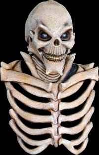 skeleton with Ribbed chest