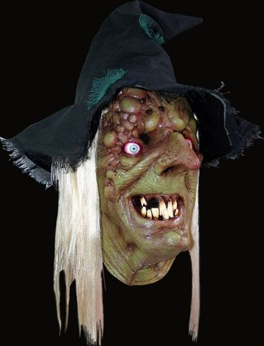 Hag witch horror mask