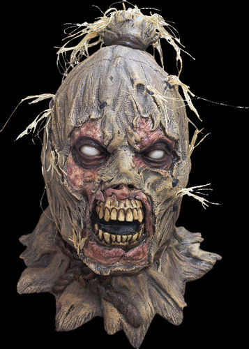 Evil scarecrow horror mask - Halloween