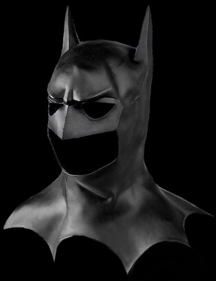 Batman mask - Full head with cowel