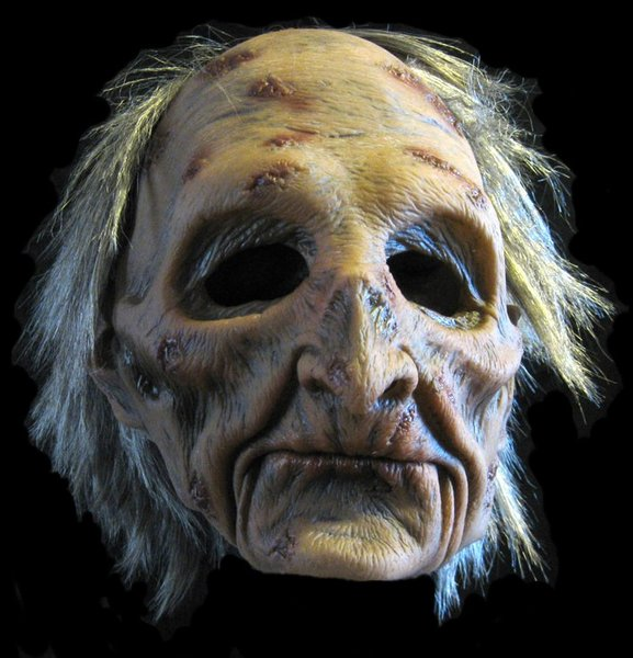 Dead zombie corpse mask Moving mouth - Halloween