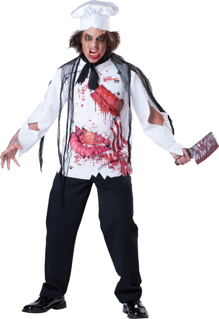 Bloody Chef costume with hat