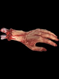 Severed Bloody Gory Hand Life size