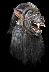 Warrior wolf horror mask