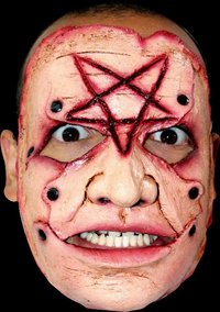 Gory latex horror mask no.11 - Halloween