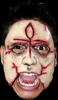 Gory latex horror mask no.12 - Halloween