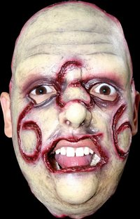 Gory latex horror mask no.15