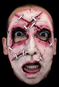 Gory latex horror mask no.17 - Halloween