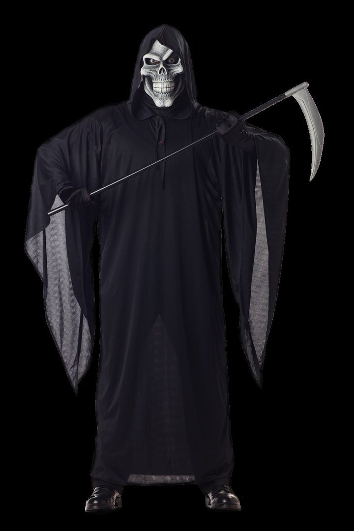 Grim Reaper costume with mask - Halloween