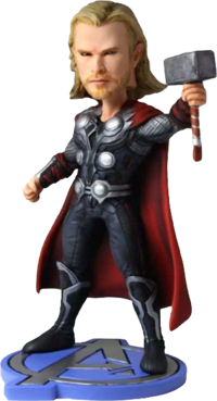 Thor Avengers Headknocker figure