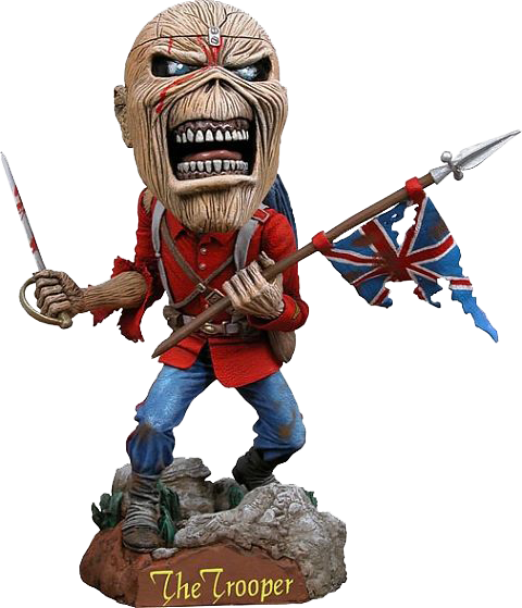 Iron maiden - Eddie head knocker