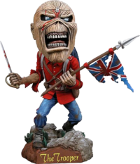 Iron maiden Eddie head knocker The Trooper
