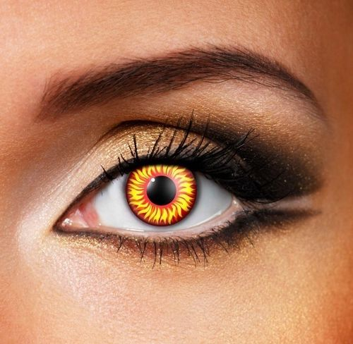 Hell cat contact lenses SPFX