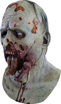 Jaw dropping Zombie horror mask