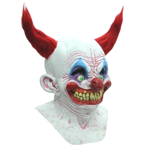 Tiny horror clown mask - Halloween