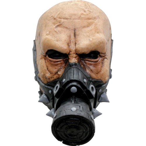 Deadly gas horror face mask - Halloween