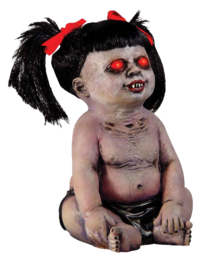 Demon baby large creepy prop