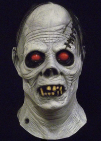 White ghoul collectors horror mask