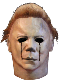 Halloween II Blood and tears Myers mask