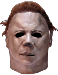 Halloween II Myers máscara del horror