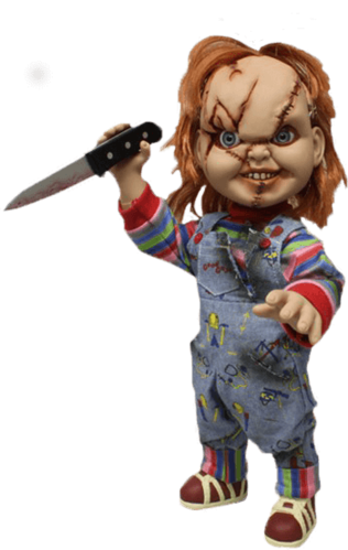 "Childs Play 15 ""(38 cm) Chucky Puppe"