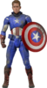 Captain America 1/4 scale figure Captain America
