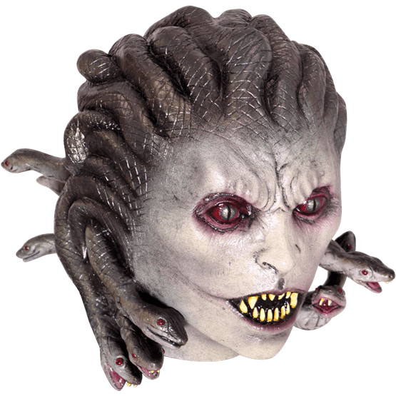 Gorgon medusa latex horror mask - Halloween
