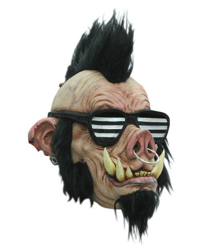 The pig punk horror mask - Halloween