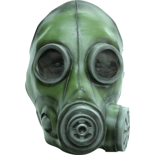 Rubber Gas mask - scary halloween horror masks