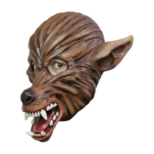 latex mask werewolf wolf full head mask