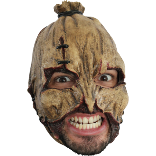scarecow chin strap horror monster mask pumpkin mask