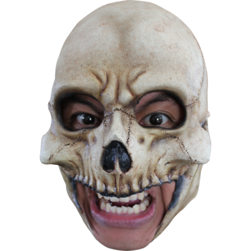 Skull chin strap horror mask - Halloween