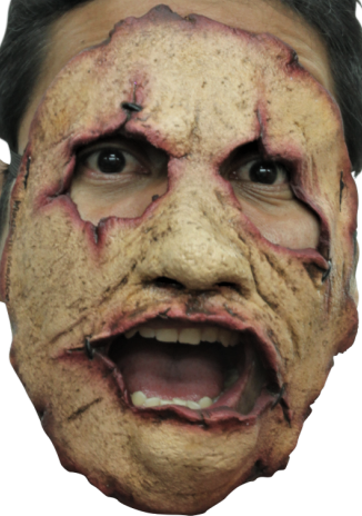 Gory latex horror mask no.19 - Halloween