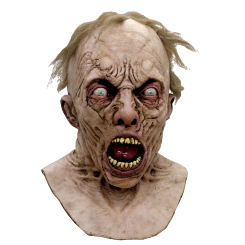 World War Z Scientist Zombie deluxe latex mask