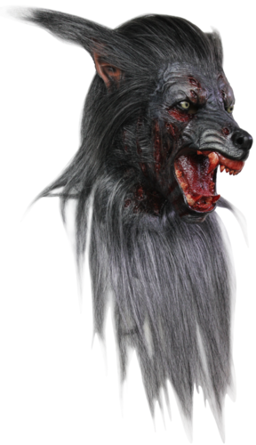 Werewolf mask superb horror mask - Halloween