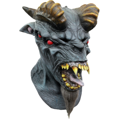 Hell beast devil horror mask - Halloween
