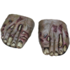 Monster / zombie feet shoe covers