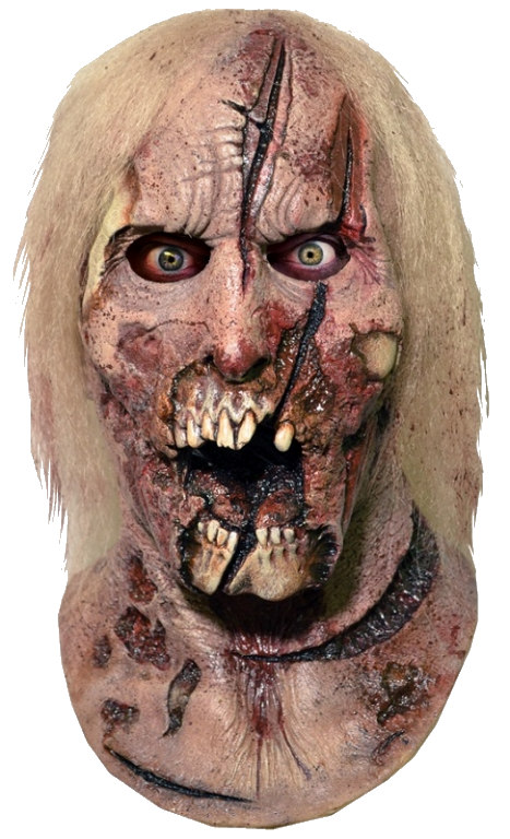 Walking Dead latex horror mask Halloween horror zombie