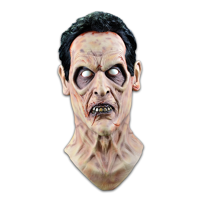 Licensed Evil Ash Mask Head & Neck - Evil Dead 2 mask